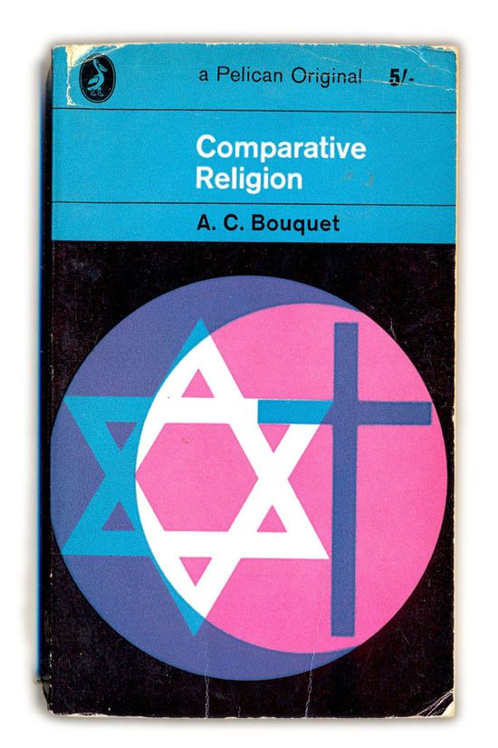 1964 Comparative Religion - A.C.Bouquet - Pelican Books