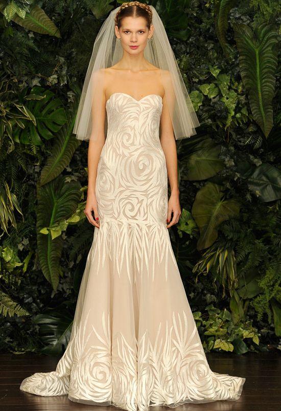 Naeem Khan Fall/ Winter 2014 Wedding Dress