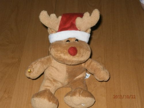 Charity Item Stuffed Animal Plush Toy Kids Toy Christmas Reindeer