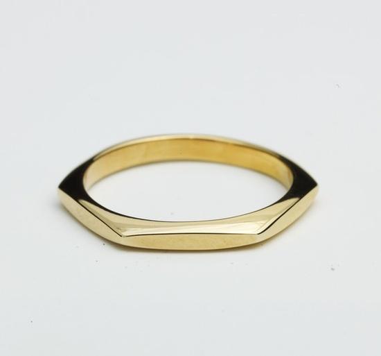 pretty hexagon ring