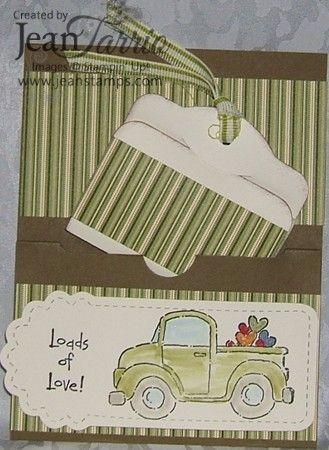 TWO TAGS DIE CARD