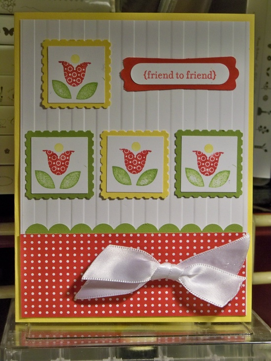 Bright Blossoms - Stampin' Up
