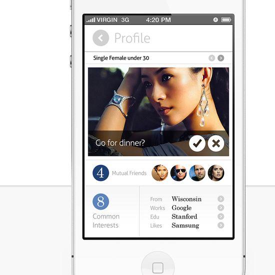 15 Examples of Profile UI Design