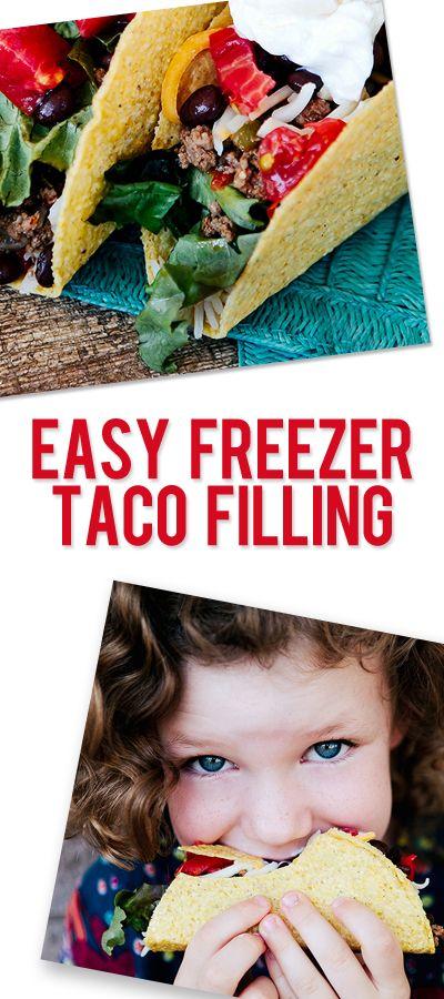 Easy Freezer Taco Filling
