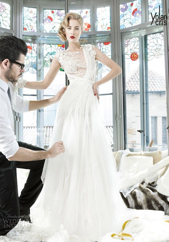 I am in love with this collection! #YolanCris 2013, #Couture #Wedding Dress Collection