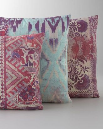 Tracy Porter Pink Aqua Pillows