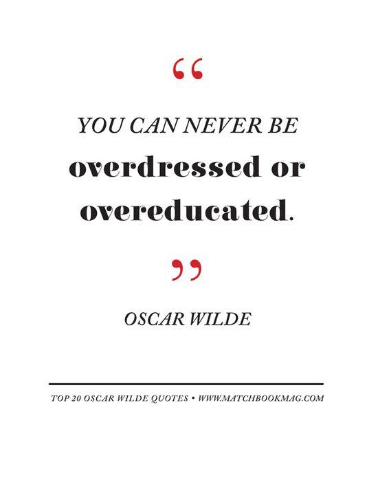 Top 20 Oscar Wilde Quotes