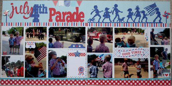4th of July Parade - Scrapbook.com