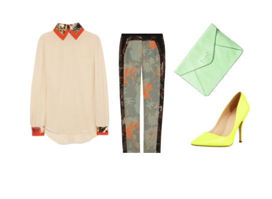 stylish work outfit idea
