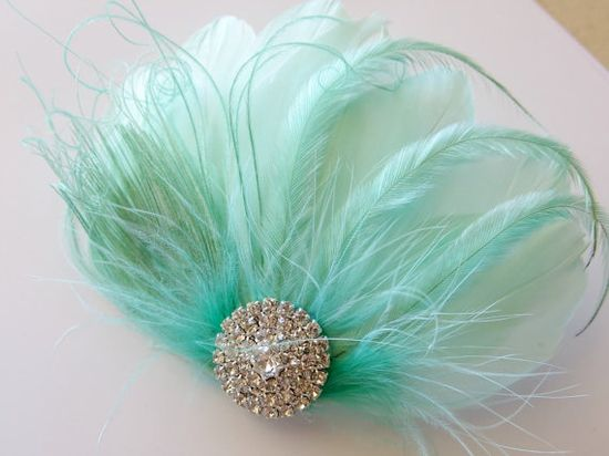 Bridesmaid Bride Feather Hair Accessory Feather by parfaitplumes, $32.00