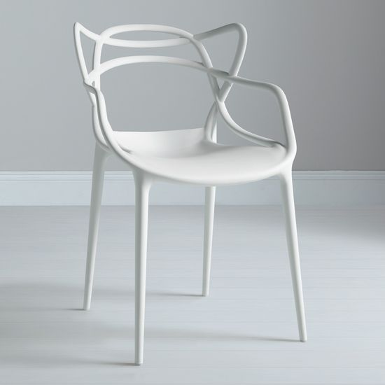 Philippe Starck for Kartell Masters Chairs  Love this chair, for me it would be black