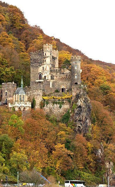 Castle Rheinstein, Rhein River, Germany
