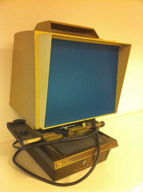 Microfilm Machine - used them in the library.
