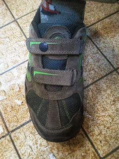 Schuhe gerettet mit Snaps / Save my shoes with snap fastener