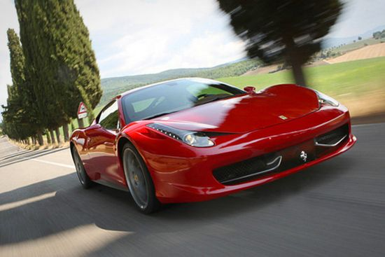 Ferrari 458 Italia-A Symbol Of Luxury And Speed