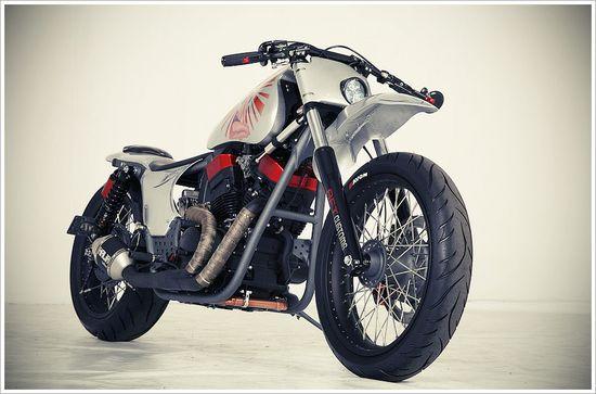 AFT Customs –Halia - Pipeburn - Purveyors of Classic Motorcycles, Cafe Racers & Custom motorbikes