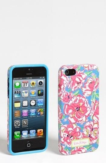 Lilly Pulitzer floral iPhone case, $28