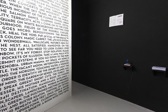 The Competitive Hypothesis, installation view at Storefront for Art and Architecture, 2013