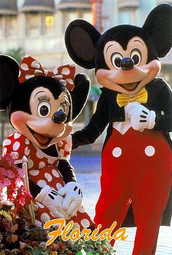 Mickey & Minnie at Walt Disney World Florida