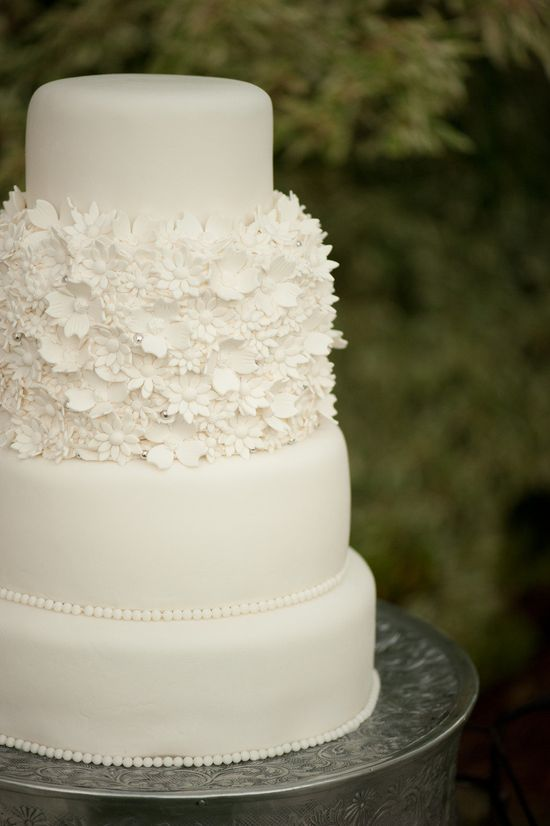 Pretty Wedding Cake ~ Photography by krissyallori.com, Event Styling by doubletakeeventst...