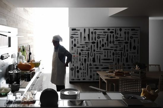 Creative Patterned Kitchen Designs From Italy
