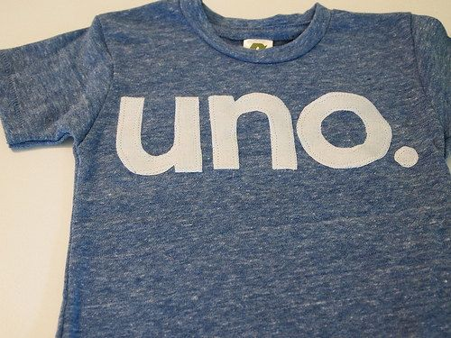 uno Birthday Tee Organic Shirt Blend first birthday shirt first birthday shirt. $26.00, via Etsy