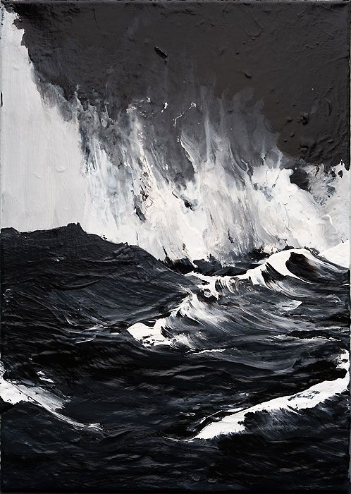 Paintings by Werner Knaupp.