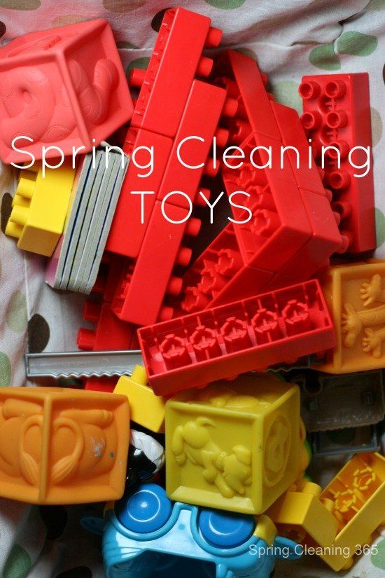 Spring Cleaning the Kid's Toys