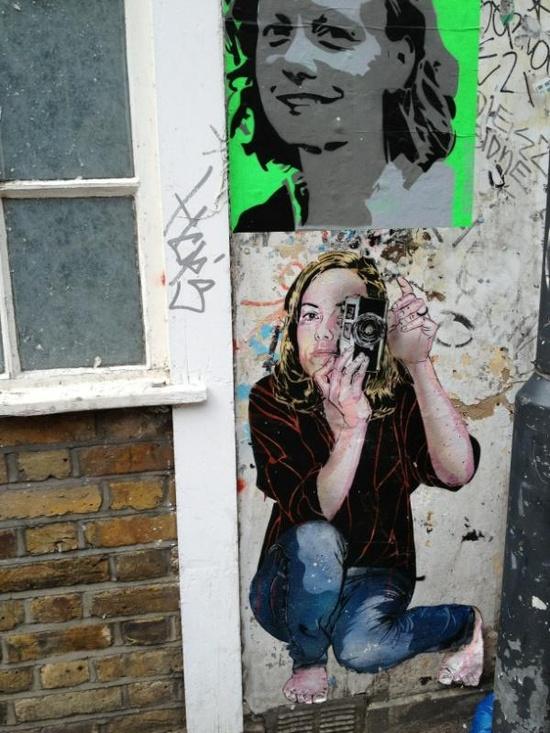 Amazing graffiti in East London. #streetart #graffiti #art