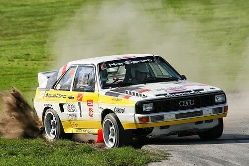 Group B Audi Quattro Rally Car