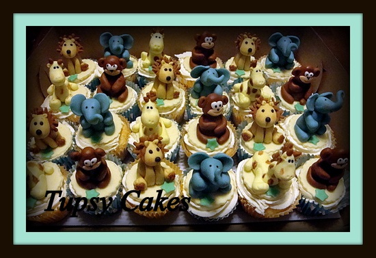 cute baby animals cupcakes