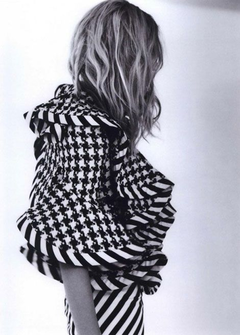 McQueen Houndstooth Stripe