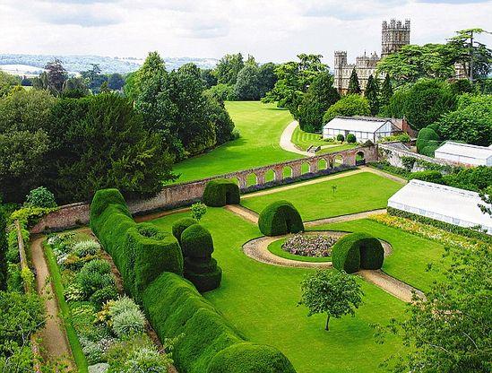 The Monks' Garden, Downton Abbey (Highclere Castle.)