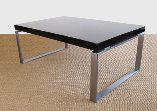 Chicago+Brushed+Steel+Coffee+Table+by+JamesDevlinStudio+on+Etsy,+$1,045.00