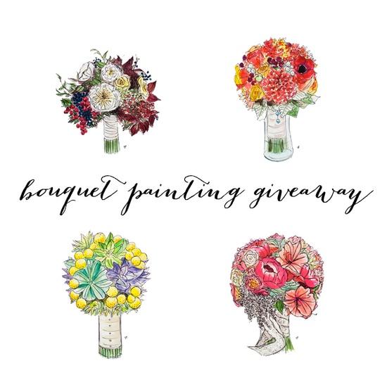 Sarah Park Events: Bouquet Painting #Giveaway