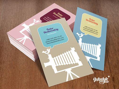 Phographer Business Cards Design #businesscard #branding
