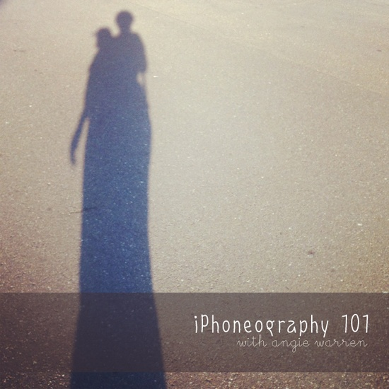 iPhoneography 101: handy little guide by Angie Warren