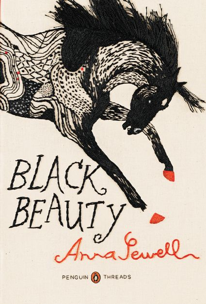 Brooklyn-based illustrator and comic artist, Jillian Tamaki designed these extraordinary covers for the first in the Penguin Threads series: Jane Austen's Emma, Frances Hodgson Burnett's The Secret Garden, and Anna Sewell's Black Beauty. Her whimsically artful style of embroidery truly captures the brave and creative spirits of these beloved stories.