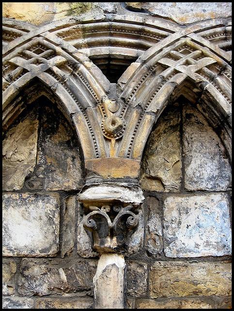 Palace of Holyroodhouse, Edinburgh ~ Wall detail