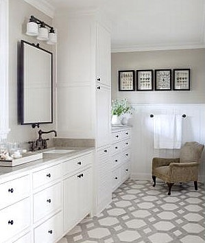 Beautiful Bathroom Decor  #bathroom, #decoration, #inspiration, #white