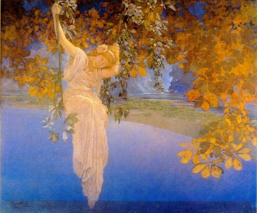 """Reveries,"" Maxfield Parrish - 1913"