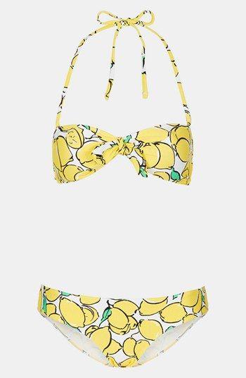 Topshop Lemon Bikini
