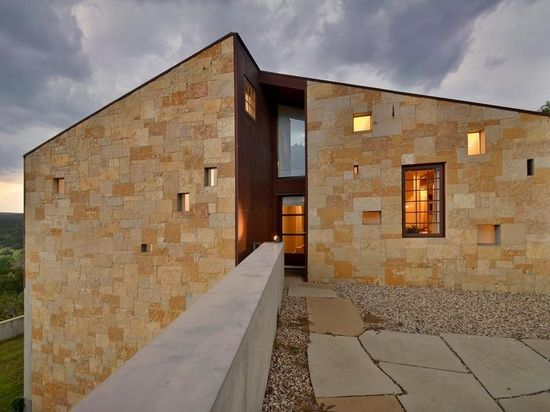 Architectural masterpiece inspired by the style of the Cistercian Abbeys