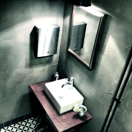 Interior Design: Apricus. #concretewall #toiletidea