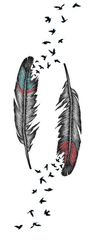 Feather Tattoo by AlliMonae.deviant... on @deviantART