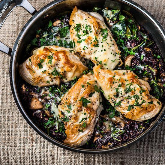 Chicken With Wild Rice
