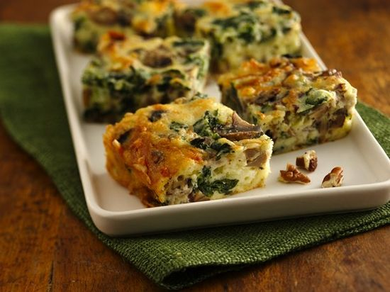 Mushroom-Pecan Appetizers (Gluten Free) - Enjoy these delicious mushroom-pecan appetizers made using frozen chopped spinach, (although I would probably use fresh)  – perfect to serve a group.