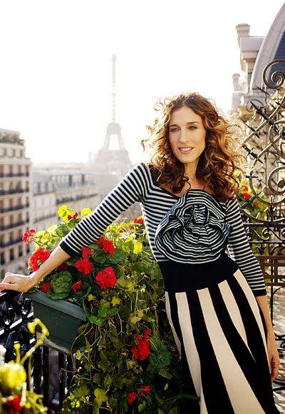 Carrie Bradshaw...in Paris