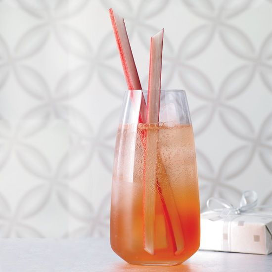 Rhubarb, Vodka, Campari,  Lemon Juice // More Garden-to-Glass Cocktails: www.foodandwine.c... #foodandwine