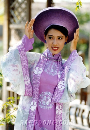 Purple Wedding Ao Dai